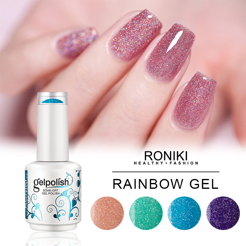 RONIKI Rainbow Gel Color