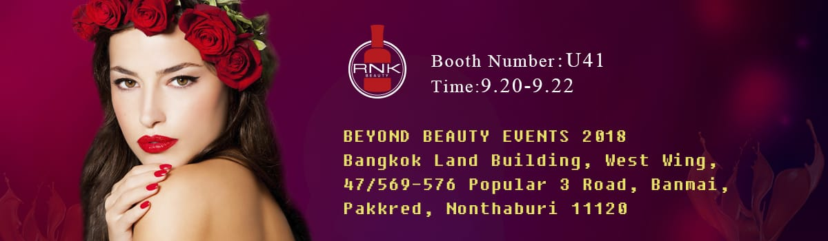 Thailand nail polish exhibition