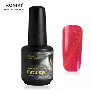 RONIKI Diamond Cat Eye Gel Polish