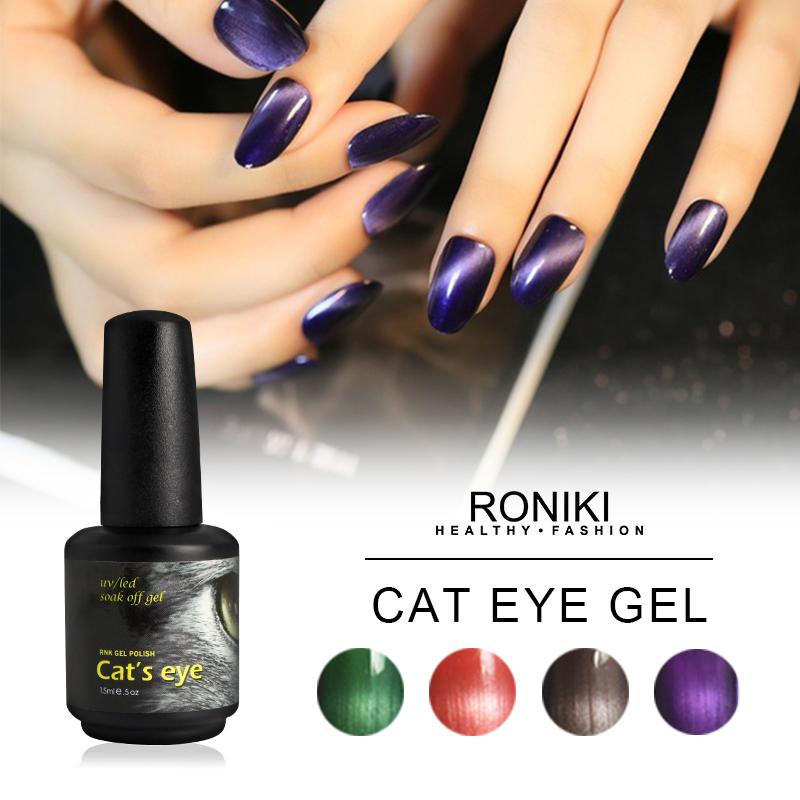 RONIKI Magnetic Cat Eye Gel Polish