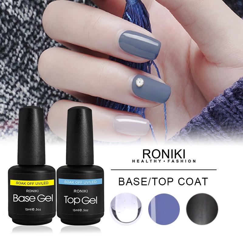 RONIKI UV/LED Base/Top Coat
