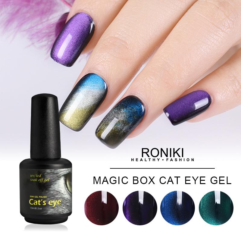 RONIKI Magic Box  Cat Eye Gel Polish