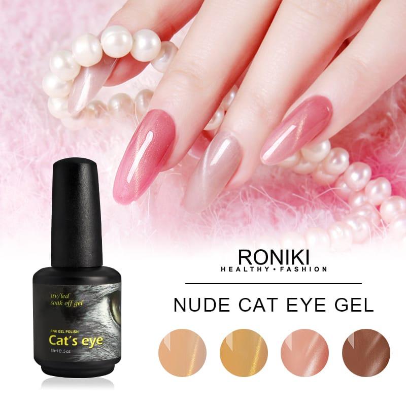 Colorful Cat Eye Gel