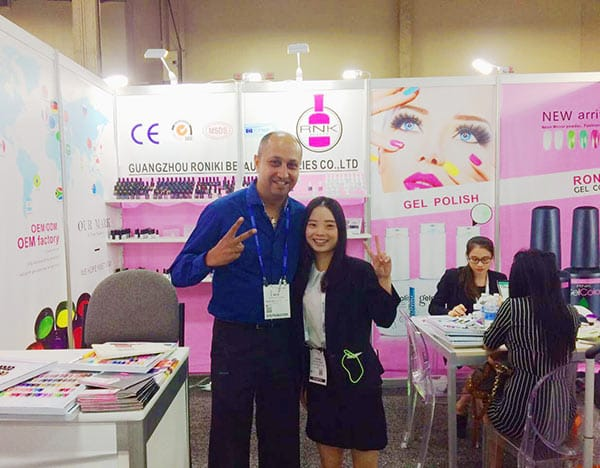 July 2017 LAS VEGAS NAIL BEAUTY EXHIBITION
