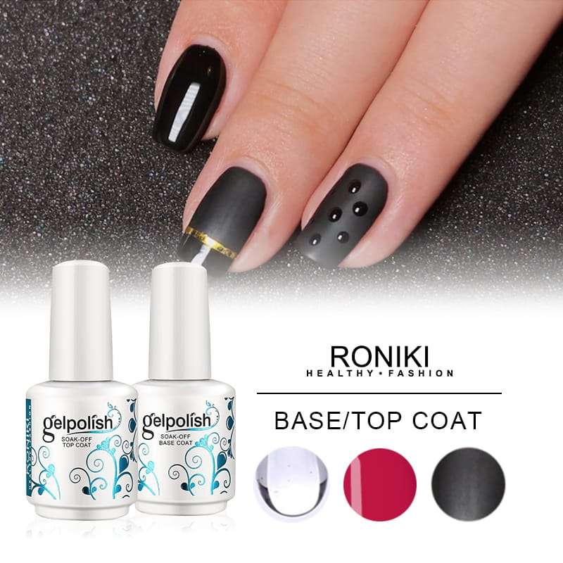 RONIKI UV/LED Base/Top Coat