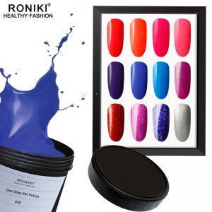 One step gel polish