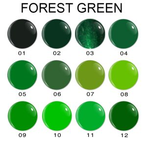 Forest Green Series Gel