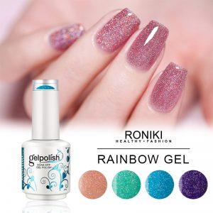 RONIKI Rainbow Gel Color