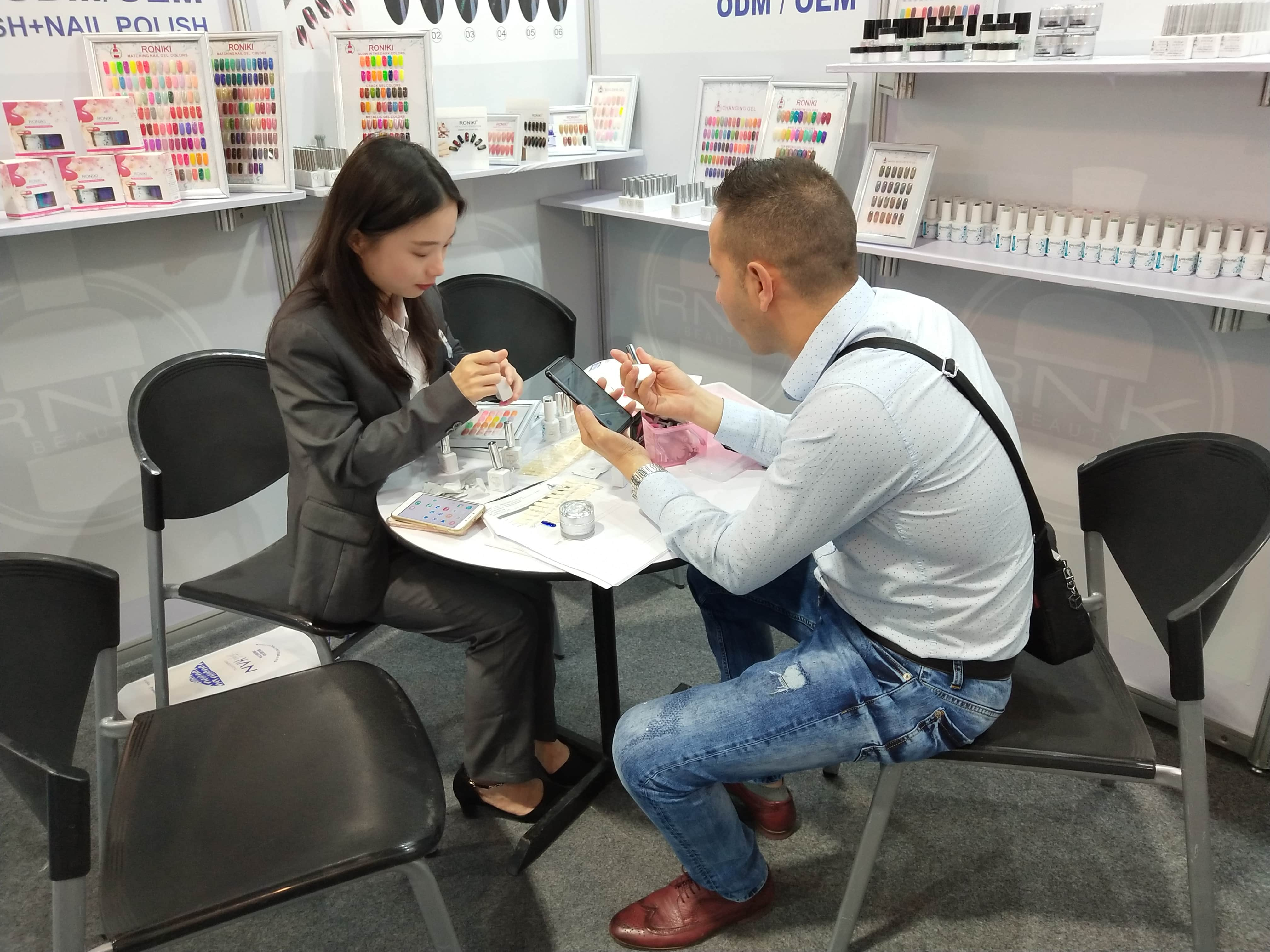 Nail Gel Beauty Exhibition