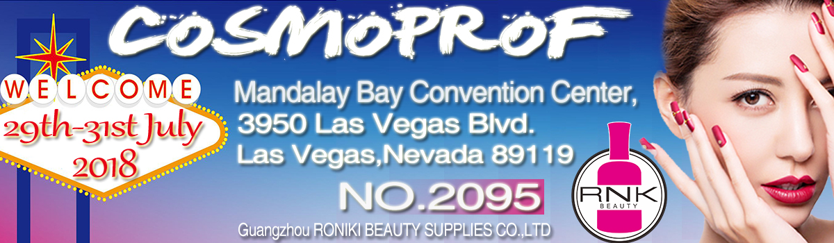RONIKI Nail Gel Beauty Exhibition in Las Vegas