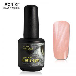RONIKI UV Pink Cat Eye Gel