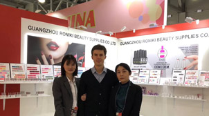 RONIKI Nail Gel Beauty Exhibition in Russia