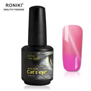 RONIKI Color Changing Chameleon Cat Eye Gel
