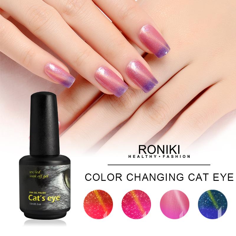 RONIKI Color Changing Cat Eye Gel