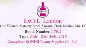RONIKI Nail Gel Beauty Exhibition in London