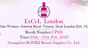 RONIKI Nail Gel Beauty Exhibition in London