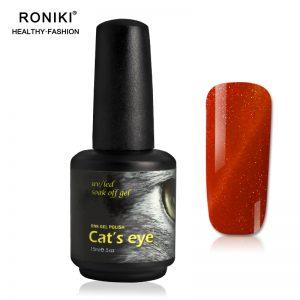 RONIKI Diamond Cat Eye Gel Polish
