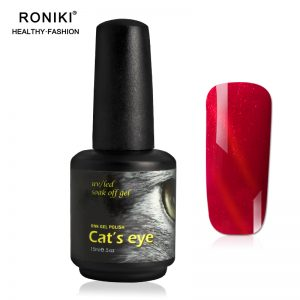 RONIKI Hot Flame Cat Eye Gel Polish