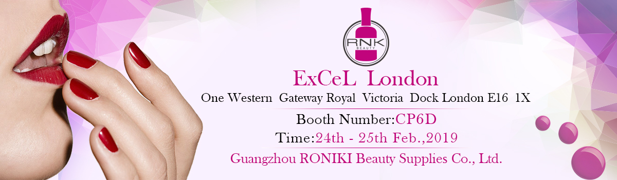 RONIKI Nail Gel Beauty Exhibition