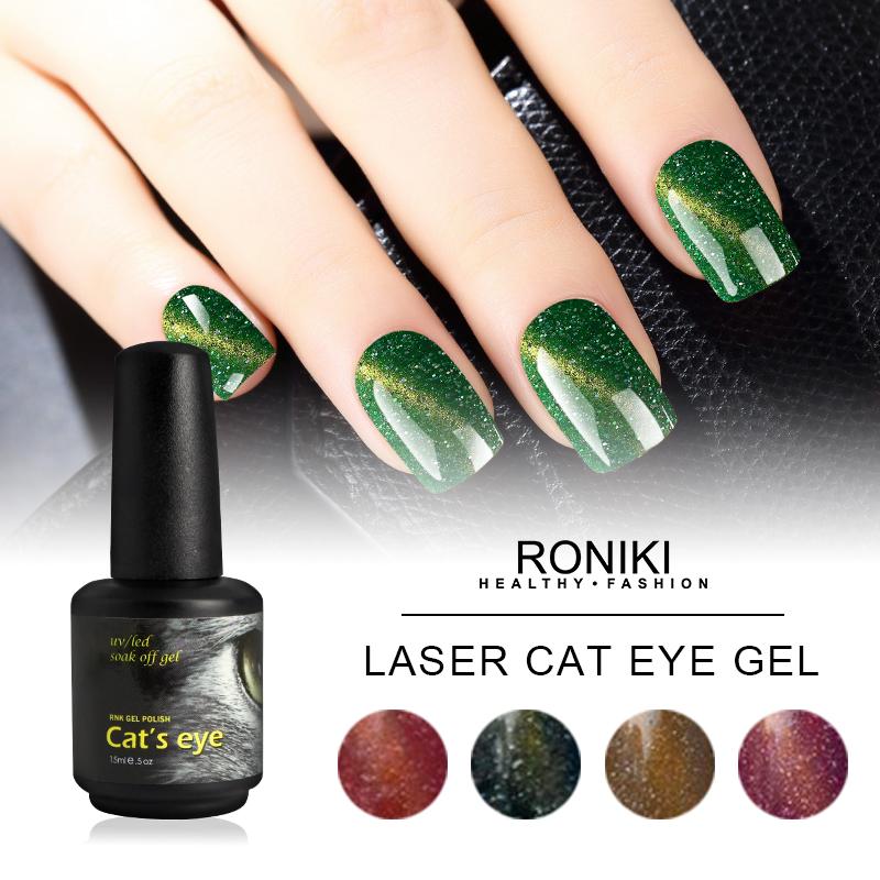 RONIKI Laser Magnet Cat Eye Gel Polish