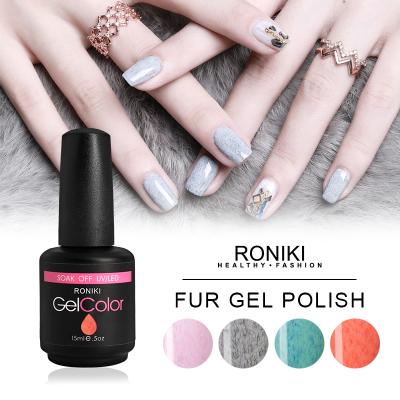 RONIKI Fur Effect Gel Polish