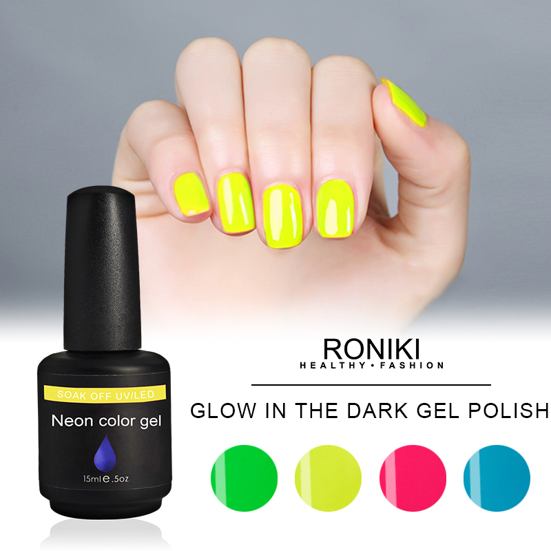 RONIKI Glow In The Dark Gel Polish