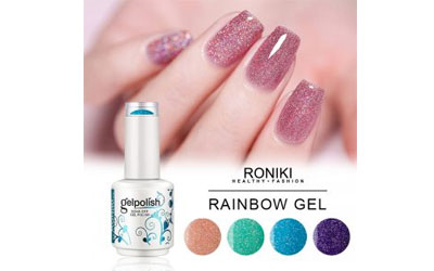What are the types of gel polish?