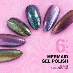 RONIKI 10ml Nail gel factory 12 new rainbow mermaid gel
