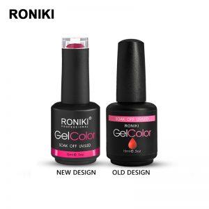 RONIKI gel nail polish Custom new Bottles Colors gel polish wholesale